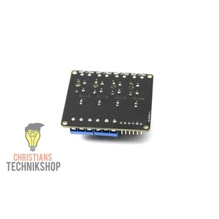 5V DC 4-Channel Solid State Relais | Semiconductor-Relais-Module 230V bis 2A for Arduino