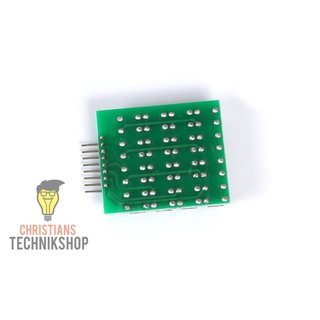 4x4 Matrix Keypad Keyboard Module 16 buttons 8 LEDs for Arduino