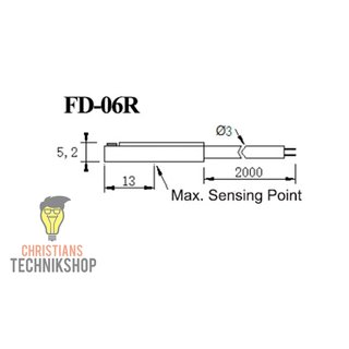 FD-06R 10-30VDC Reedschalter | 2-wired Magnetic Sensor Switch