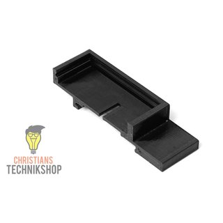 1-Channel 5 V Relay Top-hat Rail Holder Support Rail EN50022 35  mm x 15 mm or 35 mm x 7 mm