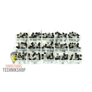 TO-92 Transistor Product Line 300 pieces - 15 different types