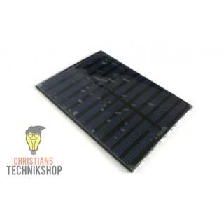 5,5V 250mA Solar Panel | Photovoltaic Module for Arduino & Crafting Projects | compact solar module 11 x 6,9 cm