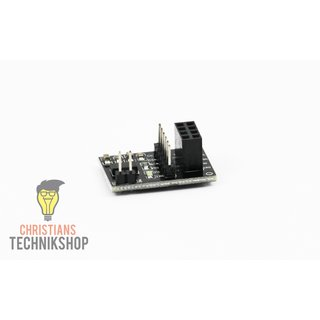 8-Pin Socket-Adapter for nRF24L01(+), SI24R1 Radio-Module