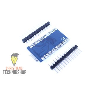 Pro Micro | developer board for Arduino IDE | ATMEL ATmega32U4 AVR Microcontroller | 5V/16MHz | Christians Technikshop