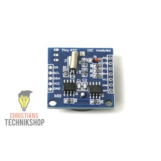 DS1307 I2C Real Time Clock + AT24C32 I2C EEPROM Board