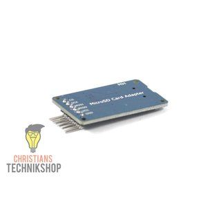 micro SD Card-Adapter Push & Push Technique for Arduino